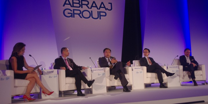 Finance Secretary Cesar V. Purisima at the Abraaj Annual Forum