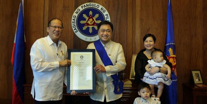 Finance Secretary Cesar V. Purisima Awarded the Order of Lakandula