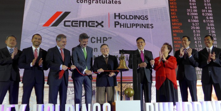 DOF Sec. Carlos Dominguez joins CEMEX Holdings Philippines