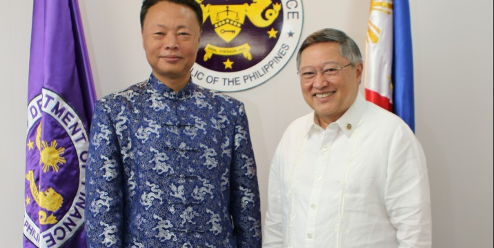 DOF, Chinese embassy agree to intensify ties in 5 areas of cooperation