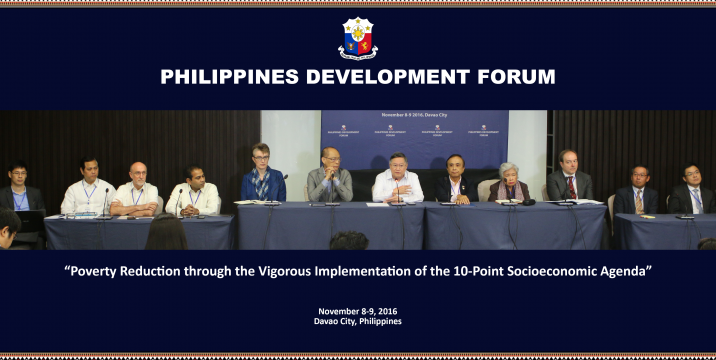 Philippines Development Forum (PDF) Press Conference
