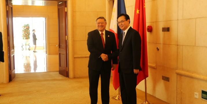 MOFCOM Minister with Secretary Carlos G. Dominguez