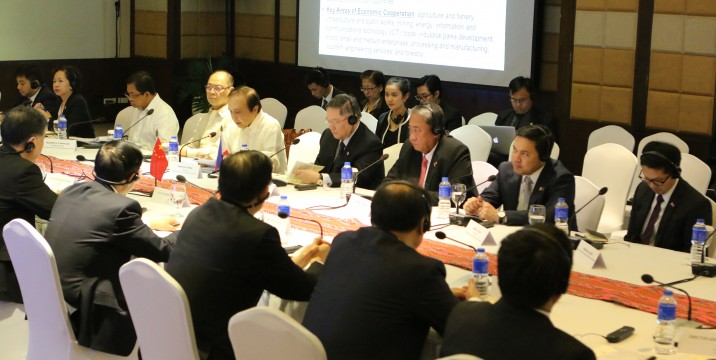 High level meeting between the Philippines and China
