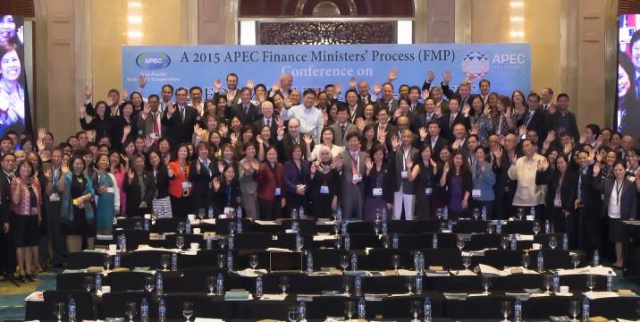 APEC Delegates in Makati for Launch of FIDN