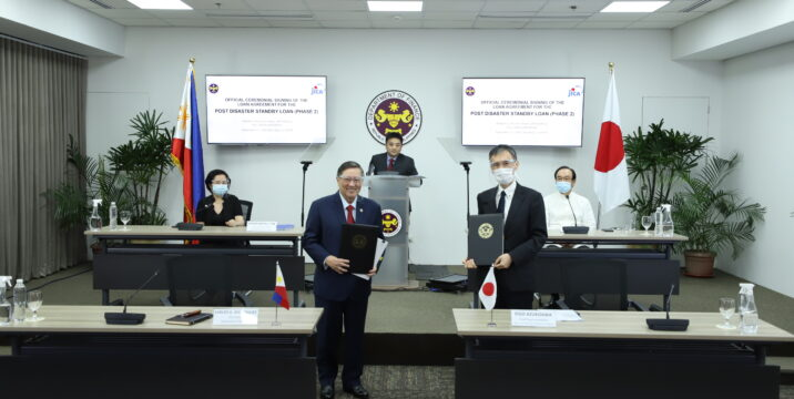 PHL, Japan sign 50-B yen post-disaster standby loan accord
