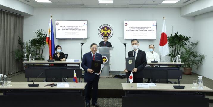 PHL, Japan sign 50-B yen post-disaster standby loan accord