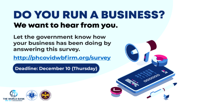 DO YOU RUN A BUSINESS? WE WANT TO HEAR FROM YOU!