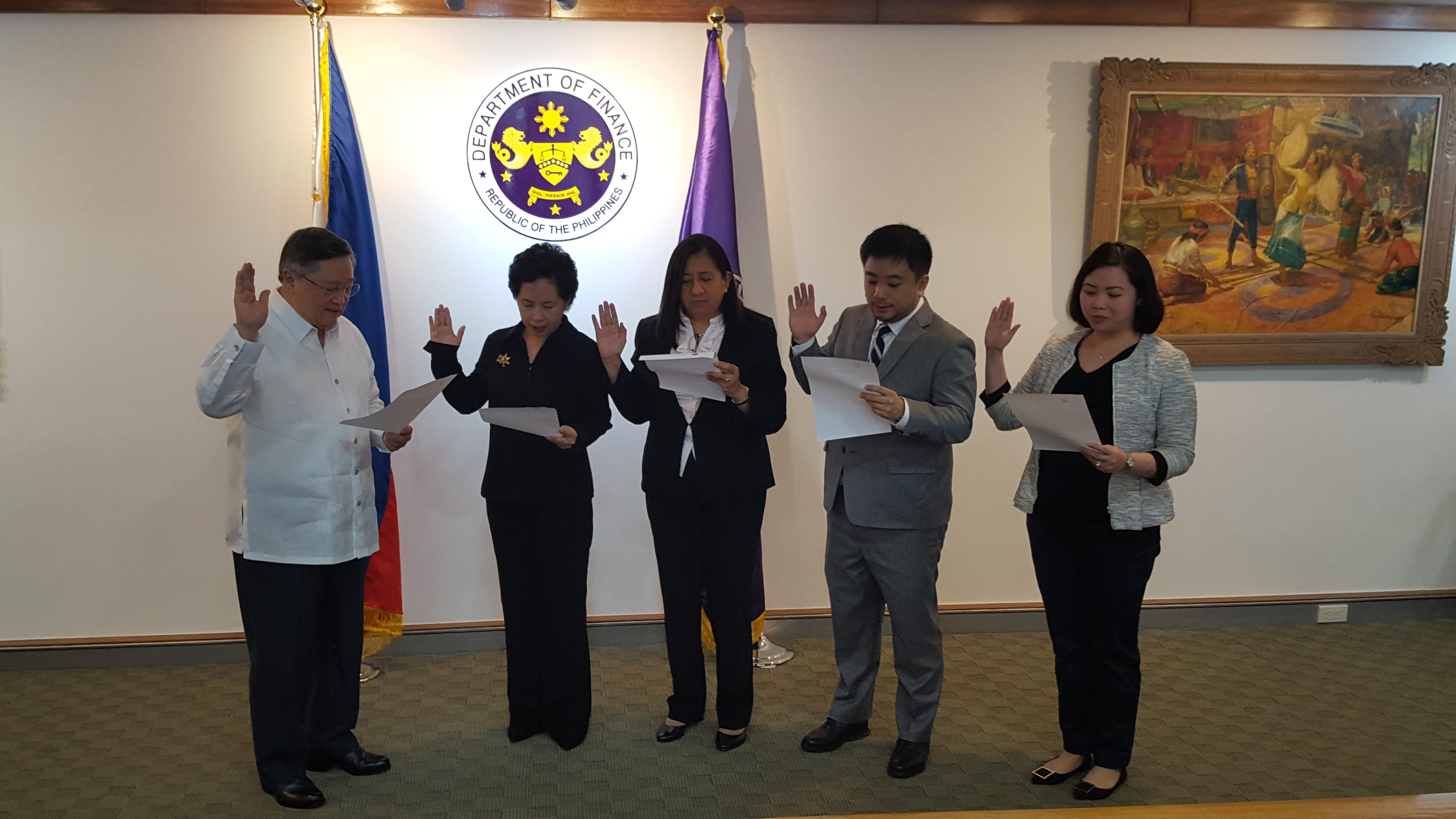 Oath taking ASEC