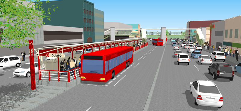 metro manila bus rapid transit line 1-BBB